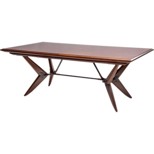 Bill Sofield for McGuire Baton Dining Table - Image 1 of 3