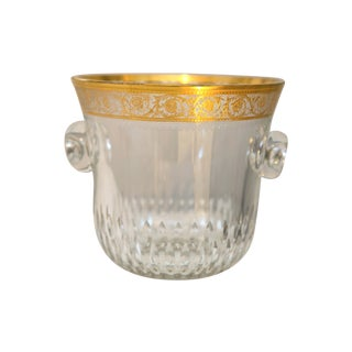 Saint-Louis Thistle Crystal Ice Bucket For Sale