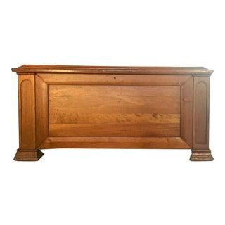 Circa 1850 Victorian Era Cedar Lined Chest For Sale