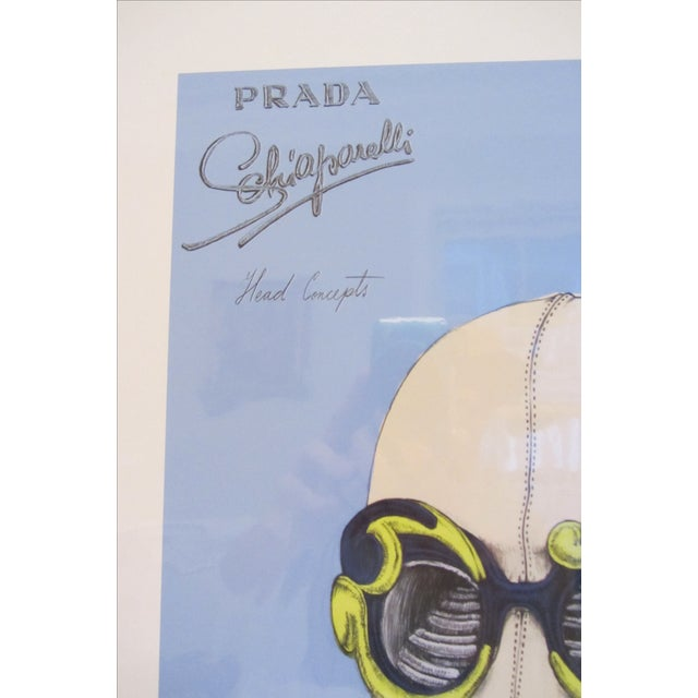 """Prada """"Head Concepts"""" Museum Prints - Set of 9 For Sale In Raleigh - Image 6 of 11"""