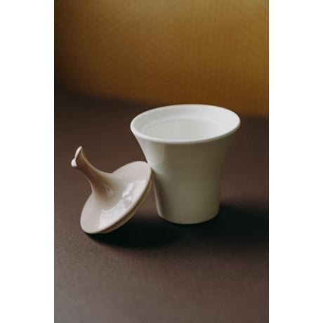 Ceramic Minimal Ceramic Cream and Sugar Set For Sale - Image 7 of 8