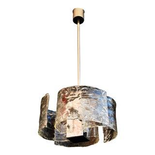 Handblown Murano Glass Light Design by Mazzega For Sale