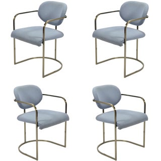 Set of Four Armchairs by Design Institute of America For Sale