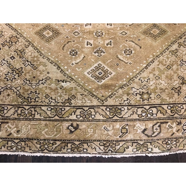 Antique Persian Malayer Runner Rug - 6′7″ × 9′10″ - Image 3 of 9