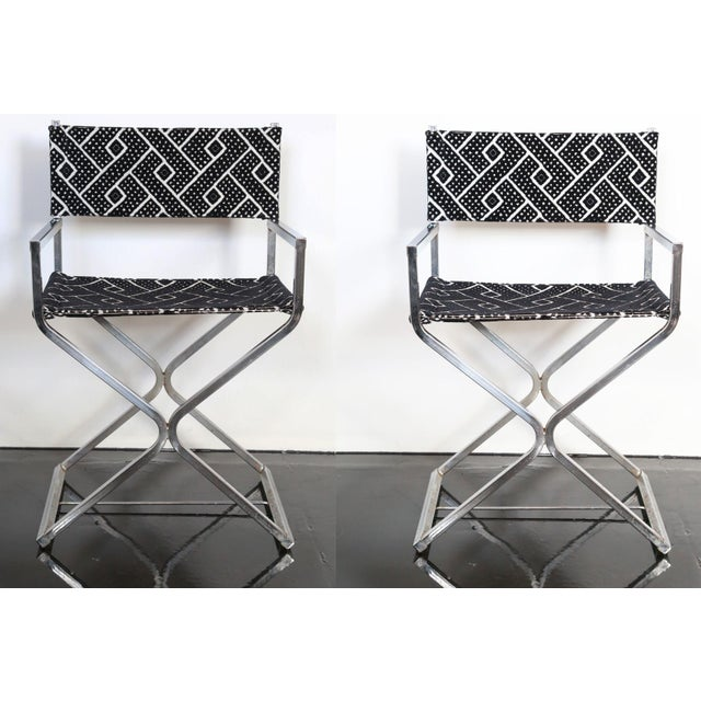 A fantastic pair of chrome directors chairs just waiting to join the party. Manufactured in the late 60s by the Virtue...