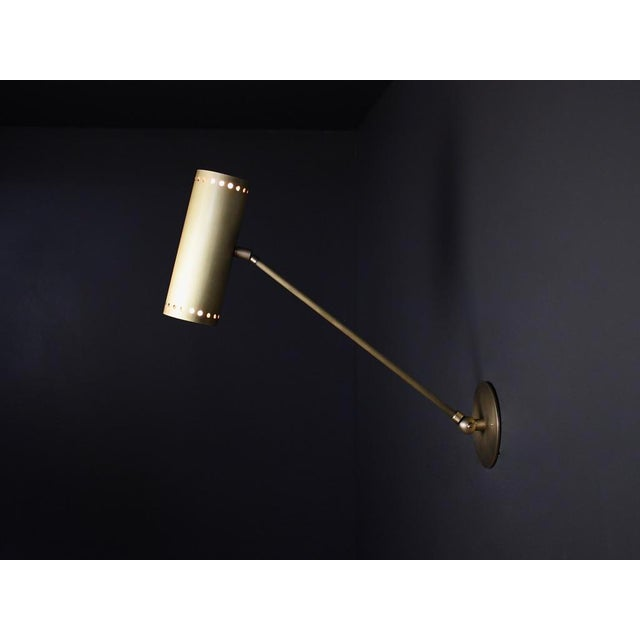 Metal Cannula Modern Bronze Wall Lamp or Sconce by Blueprint Lighting For Sale - Image 7 of 9
