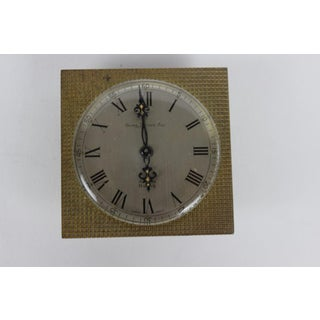 Vintage Georg Jensen Inc. 8 Days Alarm Pedestal Clock Preview