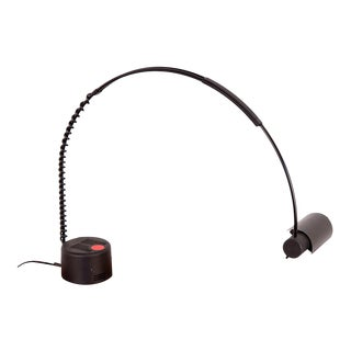 French 1980s Post-Modern Arching Coil Lamp for Europhane For Sale