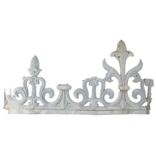 French Chateau Zinc Architectural Salvage For Sale