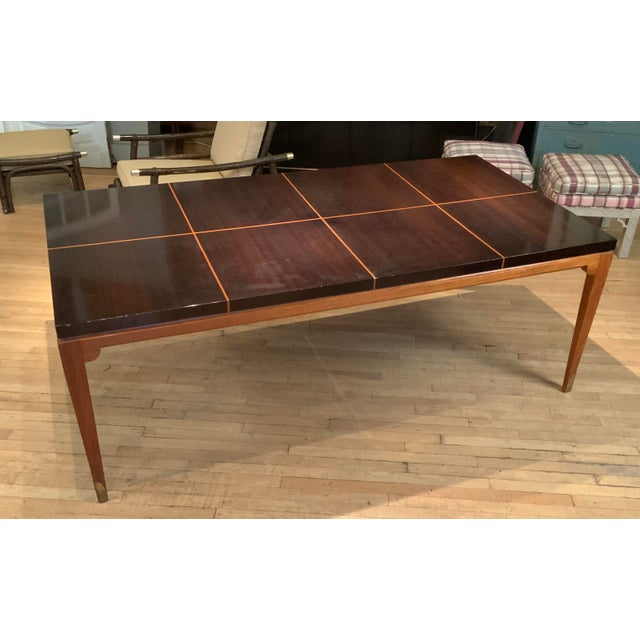1950s Mahogany Extension Dining Table by Tommi Parzinger for Parzinger Originals For Sale In New York - Image 6 of 13
