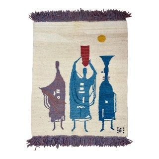 1960s S. African Mohair Tapestry by Johana For Sale