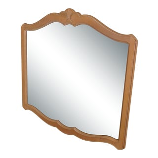 Ethan Allen French Country Beveled Wall Mirror For Sale
