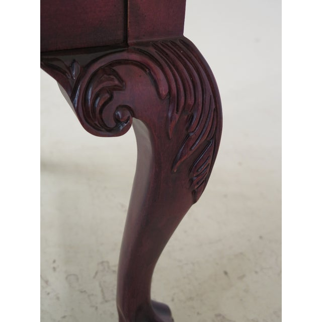 2000 - 2009 Modern Century Ball & Claw Dining Room Chairs- Set of 10 For Sale - Image 5 of 13
