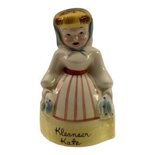1950s Vintage Kleanser Kate Napco Kitchen Cleanser Shaker For Sale