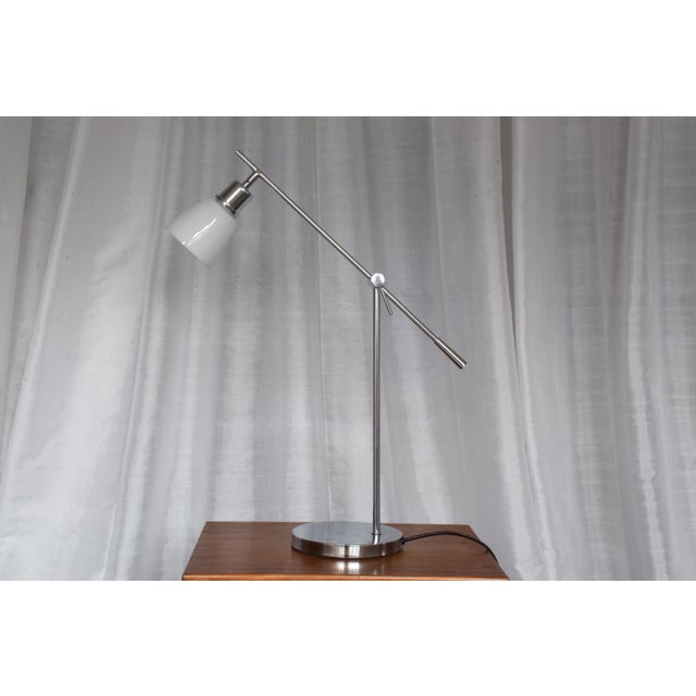 Silver Vintage Wofi Leuchten Chrome Lamp, 1960s For Sale - Image 8 of 13