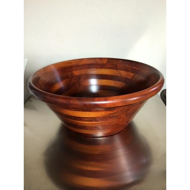 Pomerantz Wood Serving Bowl - Image 2 of 6
