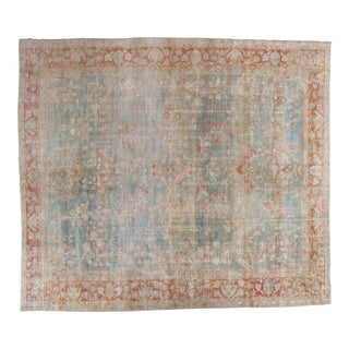 Late 19th Century Antique Persian Sultanabad Rug- For Sale