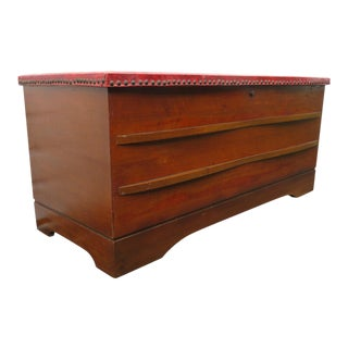 Mid Century Modern Cedar Chest Trunk By Lane Furniture For Sale