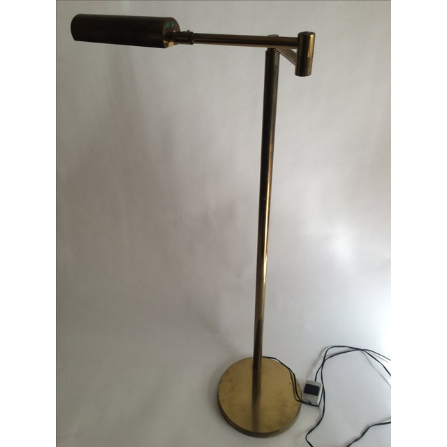 Koch + Lowy Brass Floor Lamp - Image 2 of 9