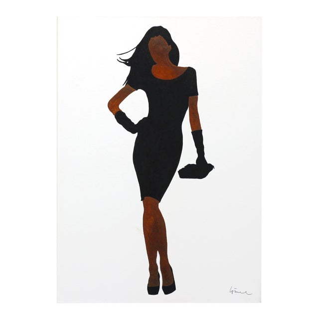"Figurative Original Artwork, ""Jacqueline"" by Gerhard Völkle For Sale"
