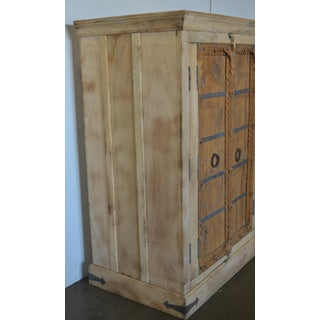 Antique Old Door Indian Cabinet Preview