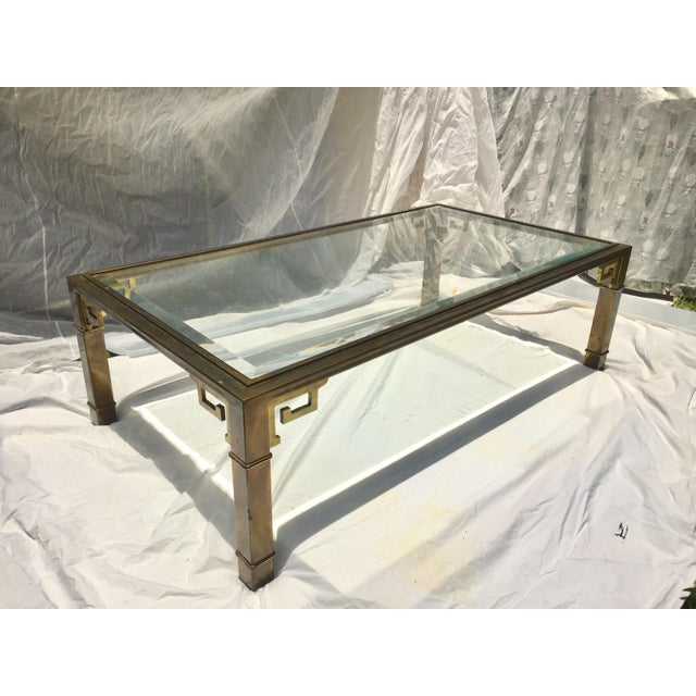 Great design is never out of style and this vintage 1970s Mastercraft coffee table is a classic! It's superbly crafted out...