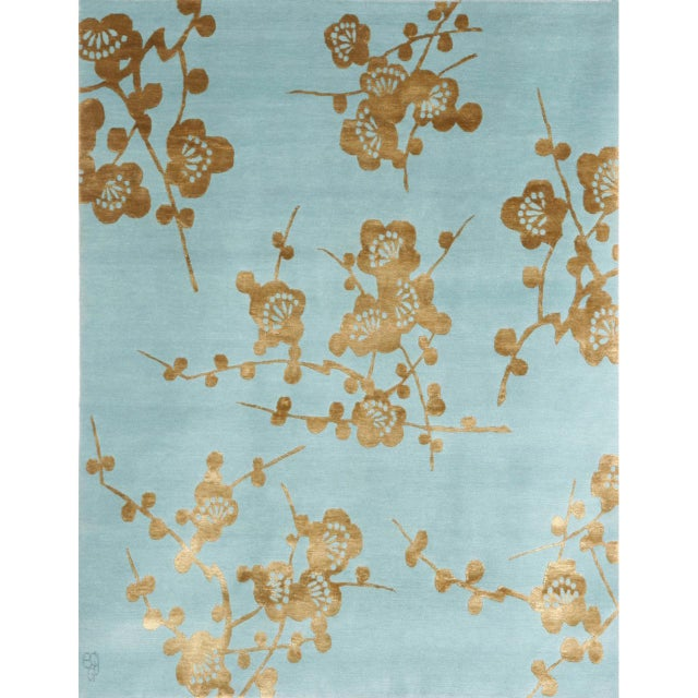 """Spray"" Rug by Emma Gardner - Image 6 of 6"