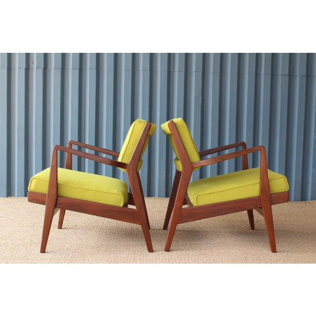 1960s Jens Risom Armchairs, U.S.A, 1960s - a Pair For Sale - Image 5 of 10