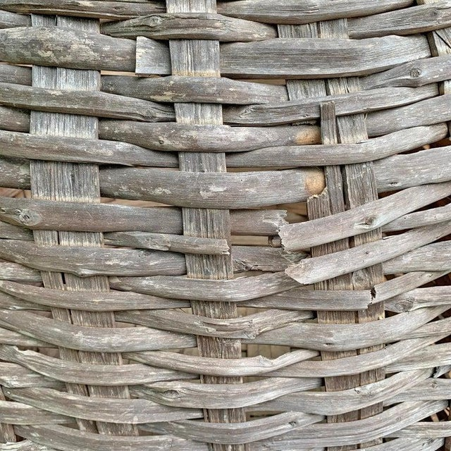 Large 19th Century American Nut Basket For Sale - Image 9 of 11
