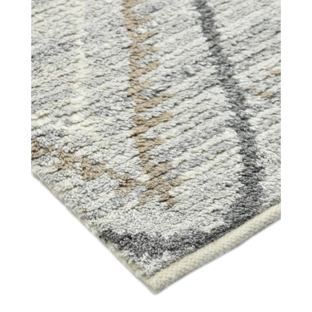 Color: Silver- Made in: India. 60% Wool, 30% Viscose, 10% Cotton. Morocco's rug-making heritage encompasses everything...