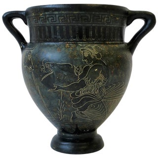 Greek Revival Amphora Vase For Sale