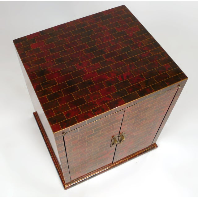 Contemporary Hand Painted Chest by Maitland Smith For Sale - Image 3 of 10