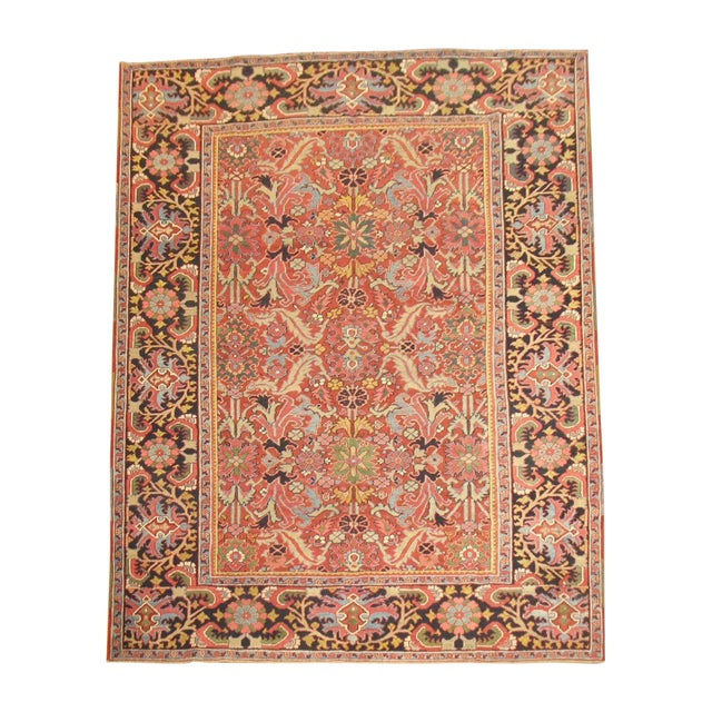 Antique Persian Heriz Rug - 8′4″ × 10′11″ - Image 1 of 11