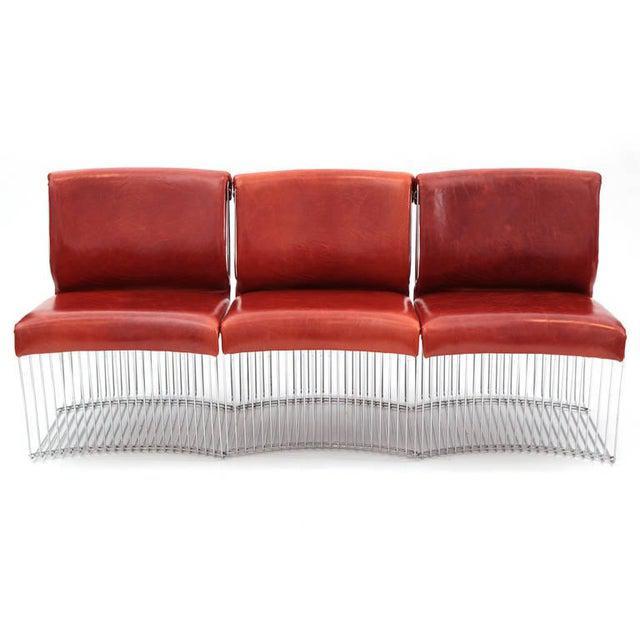 Mid-Century Modern 1970s Vintage Verner Panton for Fritz Hansen Pantonova Chairs- Set of 3 For Sale - Image 3 of 8