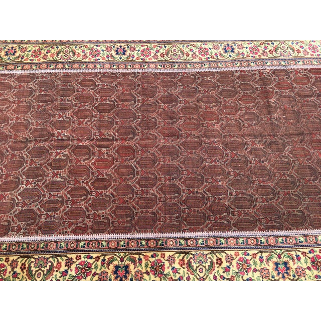 "Vintage Turkish Patchwork Rug - 5'5"" X 8'10"" For Sale In Raleigh - Image 6 of 11"