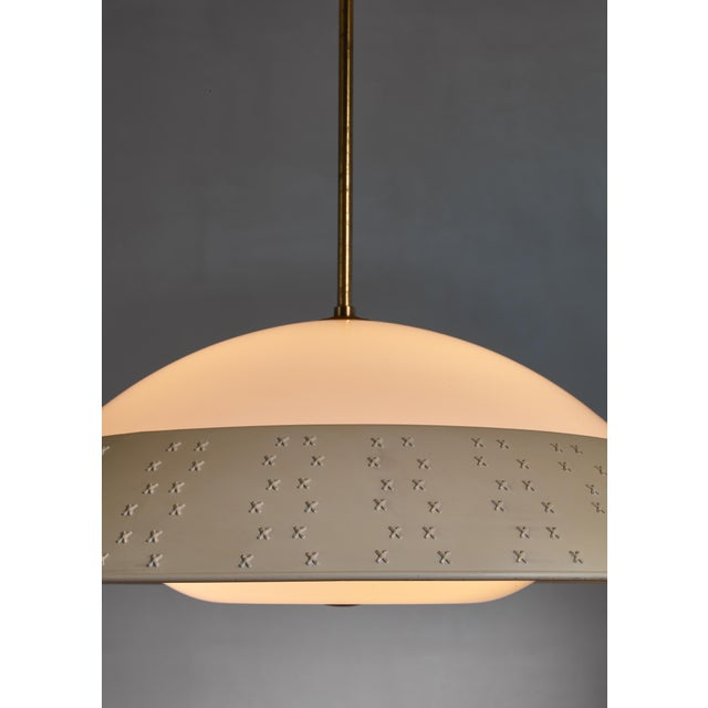 Mid-Century Modern Large (72 CM / 28.35 Inch Diameter ) Lisa Johansson-Pape Pendant Lamp For Sale - Image 3 of 5