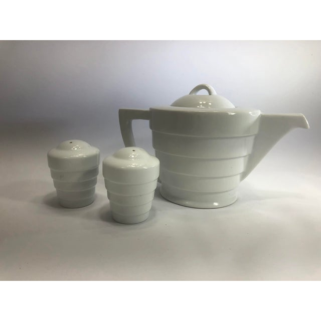 Krup's Frank Lloyd Wright Guggenheim Collection Teapot and Salt and Pepper Shakers - Set of 3 For Sale - Image 12 of 12