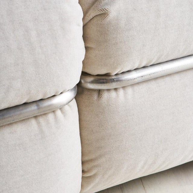 """White """"Okay"""" Sofa by Adriano Piazzesi, Italy 1970s For Sale - Image 8 of 10"""