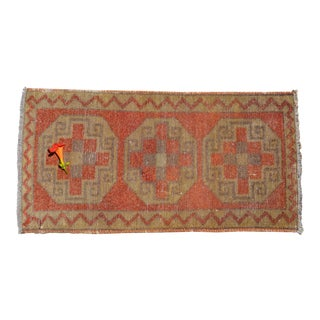 "Entryway Rug, Bath Mat, Kitchen Decor, Small Rug, Turkish Rug, Doormat 1'6"" X 3'2"" For Sale"