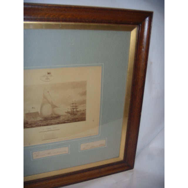 Framed Photo of The Terrible Fiona Yacht, 1899 - Image 11 of 11