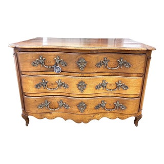 18th Century French Louis XV Commode Arbalete, 1750 For Sale