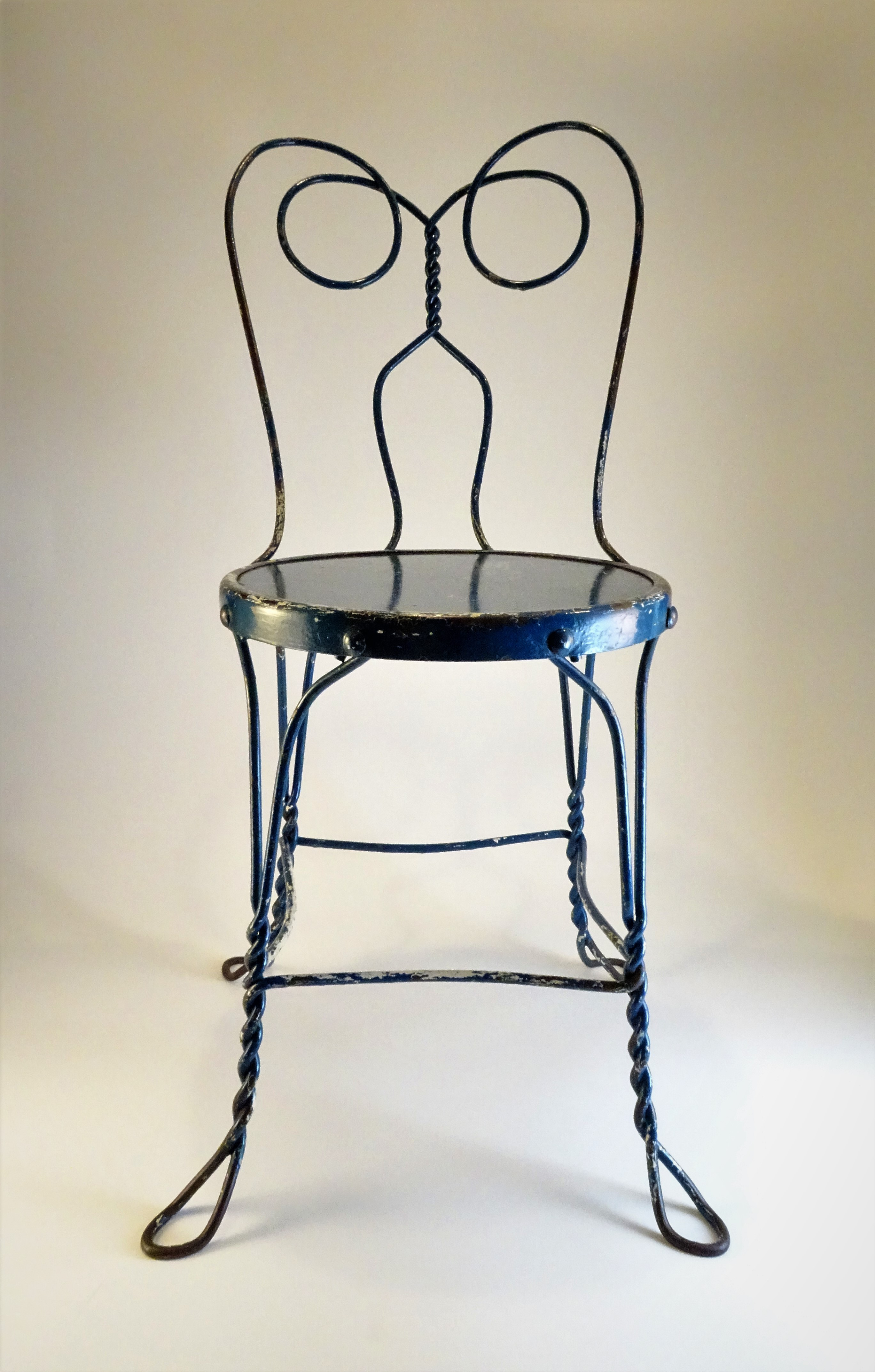 Vintage Ice Cream Parlor Chair For Sale   Image 13 Of 13
