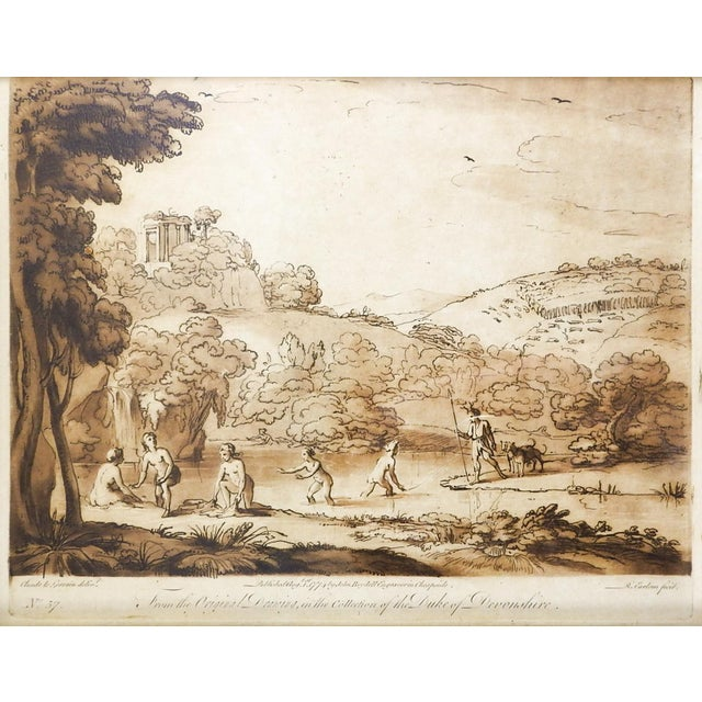 Richard Earlom 1775 Mezzotint Etchings - A Pair For Sale - Image 5 of 6