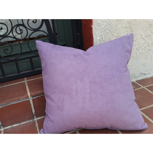 Soft Plaid Wool Pillow For Sale - Image 5 of 5