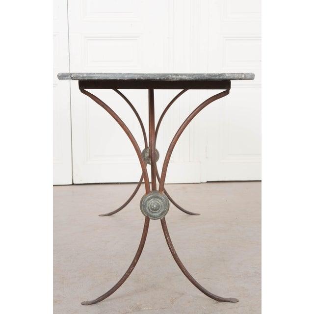 Art Nouveau French 19th Century Art Nouveau Bistro Table For Sale - Image 3 of 10