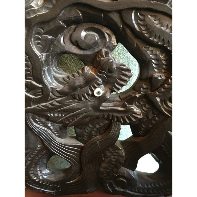 Antique Chinese Elaborately Carved Dragon Chair For Sale - Image 4 of 5 - Antique Chinese Elaborately Carved Dragon Chair Chairish