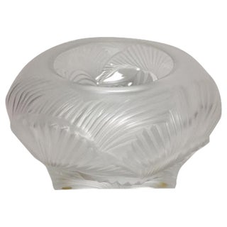 Lalique Hutan Decorative Bowl For Sale