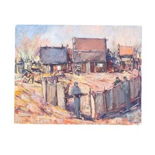 California Landscape Oil Painting | Mid Century Impressionist | Henri L Francois For Sale