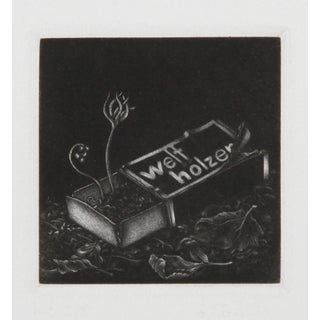 Gerde Ebert, Welfholzer, Mezzotint For Sale