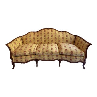 Vintage French Canape Settee For Sale